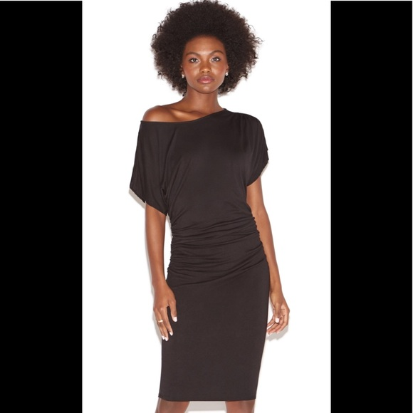 ae555fceafc1 Shoe Dazzle Dresses | Nwt Off The Shoulder Knit Dress In Blk | Poshmark
